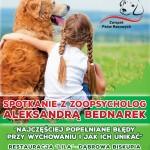 Spotkanie z zoopsycholog połączone z warsztatami - Związek Psów Rasowych
